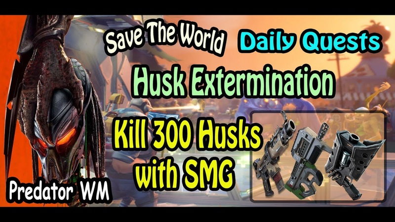 Kill 300 Husks with SMG in successful missions