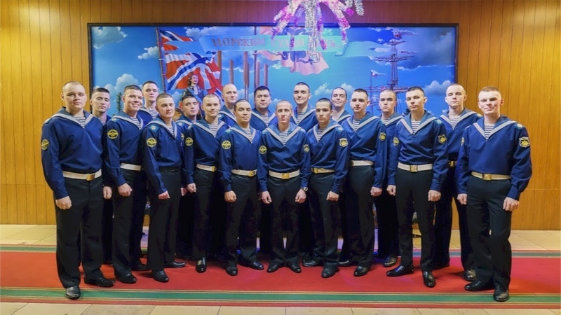 Новогодний концерт оркестра морской авиации Балтийского флота
