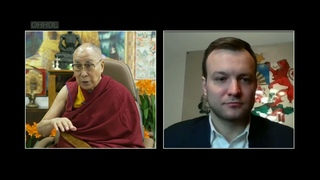 Далай Лама красиво ставит на место латышского националиста (фрагмент вебинара от  )