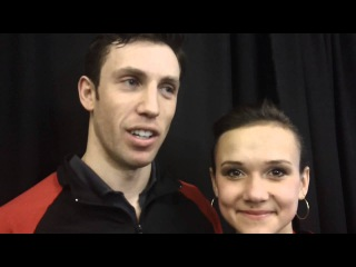 Dylan Moscovitch and Lubov Iliushechkina from #CTNSC15