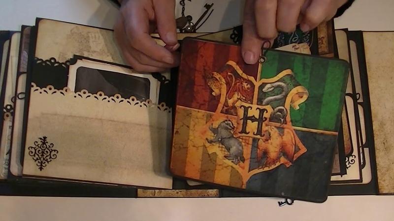 Album Scrapbooking Harry Potter l'école des sorciers