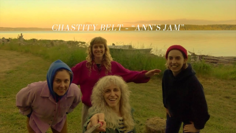 Chastity Belt Ann's Jam OFFICIAL VIDEO