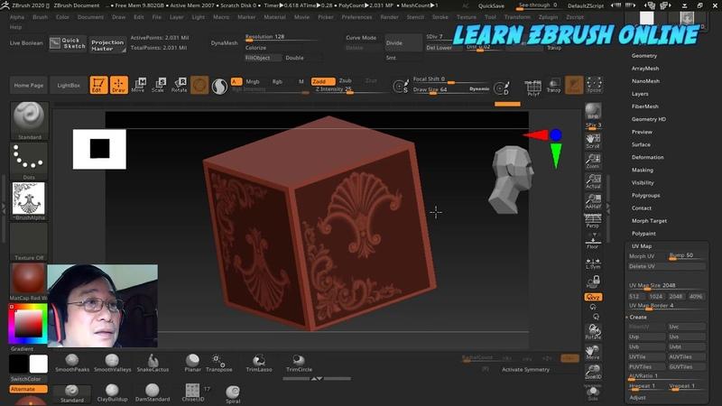 Học Zbrush dễ như lớp một | Zbr 2020 với hai tính năng tuyệt vời được chờ đợi từ lâu