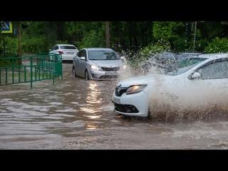 Ливни и ураганы пришли на смену аномальной жаре. Погода в СНГ