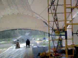 Декорирование шатра на свадьбу ( 6 утра) 2