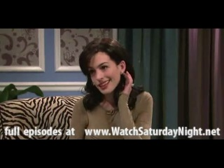 Saturday night live 687 (se 36 ep 07)snl anne hathaway - the miley cyrus show