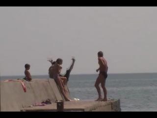 Пляж Камешки .Феодосия.