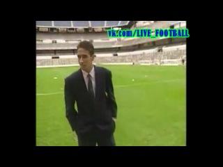 Дебют Рауля за Реал в матче против Атлетико