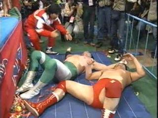() AJPW Mitsuharu Misawa Vs. Akira Taue (CC finals - 15-04-95)