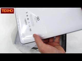 256985 Планшет GoClever TAB R104 GCR104 Видеообзор