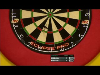 Dave Chisnall vs Jelle Klaasen (Players Championship Finals 2013 / Round 1)