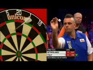 Netherlands vs Italy (PDC World Cup of Darts 2014 / First Round)