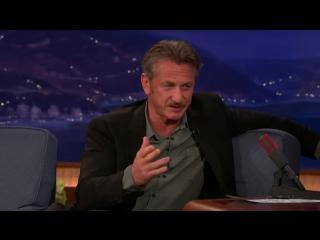 Conan -  - Sean Penn, Sasha Alexander, And Comedian Dana Gould