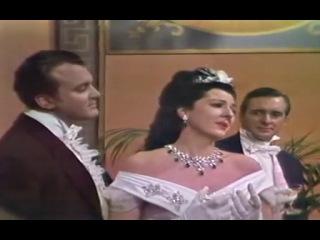 Anna Moffo Nicolai Gedda Libiam nè lieti calici de La Traviata de Verdi subtítulos español e italiano