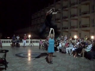 Jumping over 101 people from Vladimir Struy Strong Spirit team