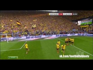 Суперкубок Германии. Боруссия - Бавария 2-0. Обзор голов матча