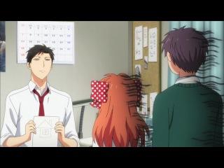 [WreckMedia]Gekkan Shoujo Nozaki-kun - 8 Ежемесячное седзе Нозаки-куна 8 серия (озвучил Lover Anime)