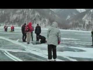 Фигуристое катание на Байкале