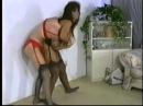Classic lingerie sexy women catfight
