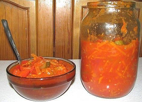 ВКУСНЕЙШИЙ «Кубанский» Салатик Еще один рецепт из детства. Сколько помню себя,помню этот салат.Мама закатывала его десятками банок. Как же я его любила! Очень,очень вкусный. А юшка...хлебушком