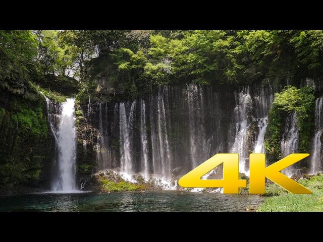 Shiraito Falls Shizuoka 白糸の滝 4K Ultra HD