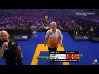 Jamie Caven vs Kevin Painter (PDC World Darts Championship 2017 / Round 1)