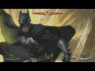 Injustice: Gods Among Us - 'Batman vs Solomon Grundy Gameplay'