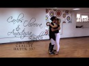Carlos Oliveira Anastasia Lyakh - ZOUK DEMO 1 - ZOUK SAMBA CLASSES IN IRKUTSK 2017
