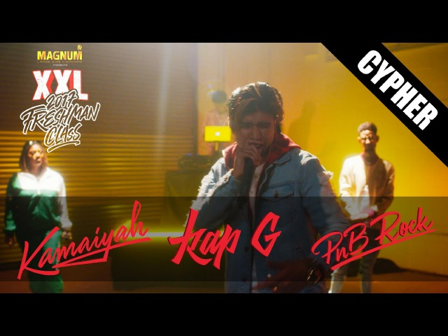 PnB Rock Kap G and Kamaiyah's 2017 XXL Freshman Cypher