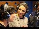 Marzo 2015. Anna Tatangelo a Radio Toscana