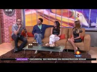 Lo Imperdonable   Grettell Valdez, Ana Brenda e Iván Sánchez en 1N