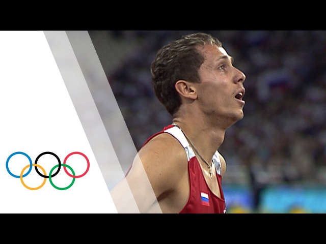Yuriy Borzakovskiy wins Men's 800m Olympic final Athens 2004