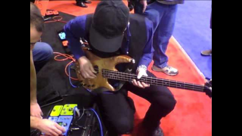 Billy Sheehan using the Soundblox Multiwave Bass Distortion