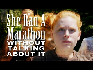 First Person To Run A Marathon Without Talking About It