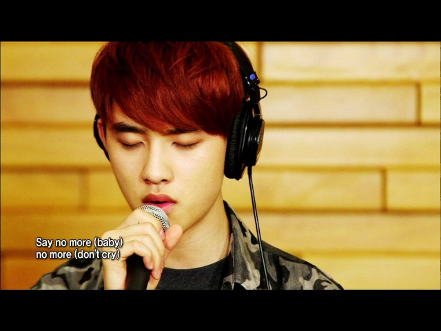 Global Request Show A Song For You - Baby, Dont Cry by EXO (2013.08.30)