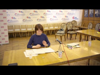 Анна Хадалаева - Мастер класс по созданию сценария короткого метра