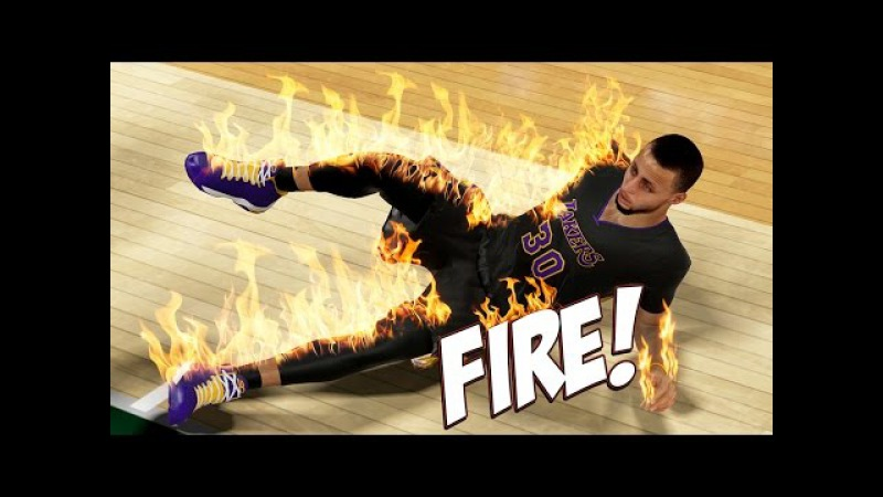 NBA 2K15 Lakers MyGM 40 - Steph Curry Catches FIRE! Trying To Fight The HOF Cheese!