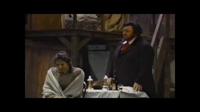 La Boheme Pavarotti Che gelida manina Fiamma Izzo d' Amico Si mi chiamano Mimi