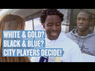 THE DRESS! Players Decide | White & Gold? Blue & Black?