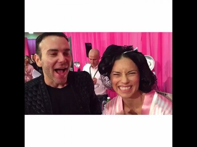 "@theblogs_ on Instagram ""Mister V @matmazzafera @adrianalima on the Backsatge ! Victorias secret fashion show backstage vspink vsangels VSFS2015 adrianalima…"""