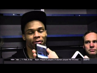 Russell Westbrook on what scoring title means to him: S---