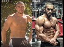 Lazar Angelov's Before/After Body Transformation Video