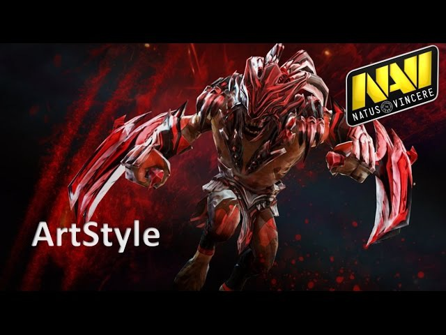 Navi ArtStyle Bloodseeker | Ranked Gameplay Dota 2