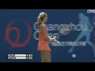 2015 Guangzhou R1: (1)Simona Halep vs (Q)Petra Martic