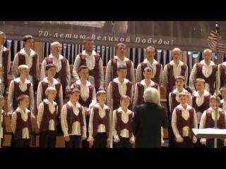 Русская народная песня «На горе-то калина» Владимирская хоровая капелла мальчиков и юношей