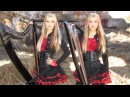IRON MAIDEN - Fear of the Dark - Harp Twins (Camille and Kennerly) HARP METAL