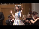 Patricia JANEČKOVÁ: Les oiseaux dans la charmille (Jacques Offenbach - Les contes d' Hoffmann)