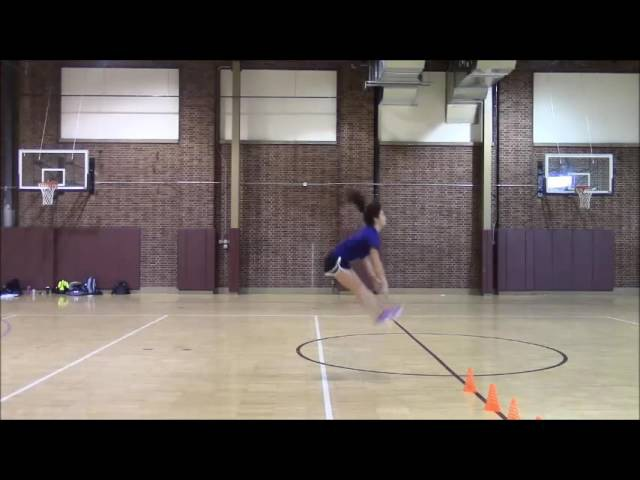 Women's Volleyball Plyo Workout