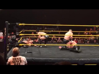 Prince Devitt debuts as Finn Balor on WWE NXT 9/25/2014 (Fancam)