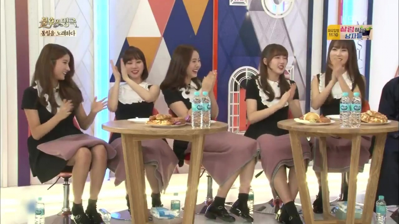 161105 Gfirend Immortal Song Chat with IOi